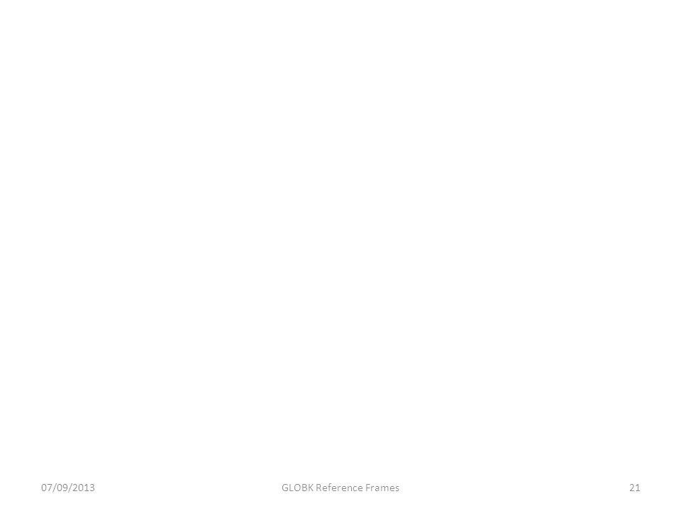GLOBK Reference Frames