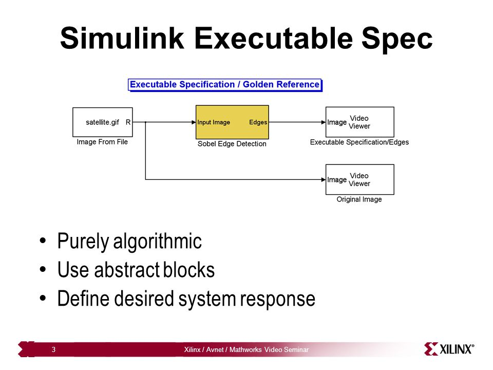 Simulink Executable Spec