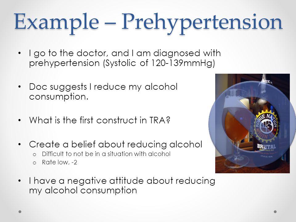 Example – Prehypertension