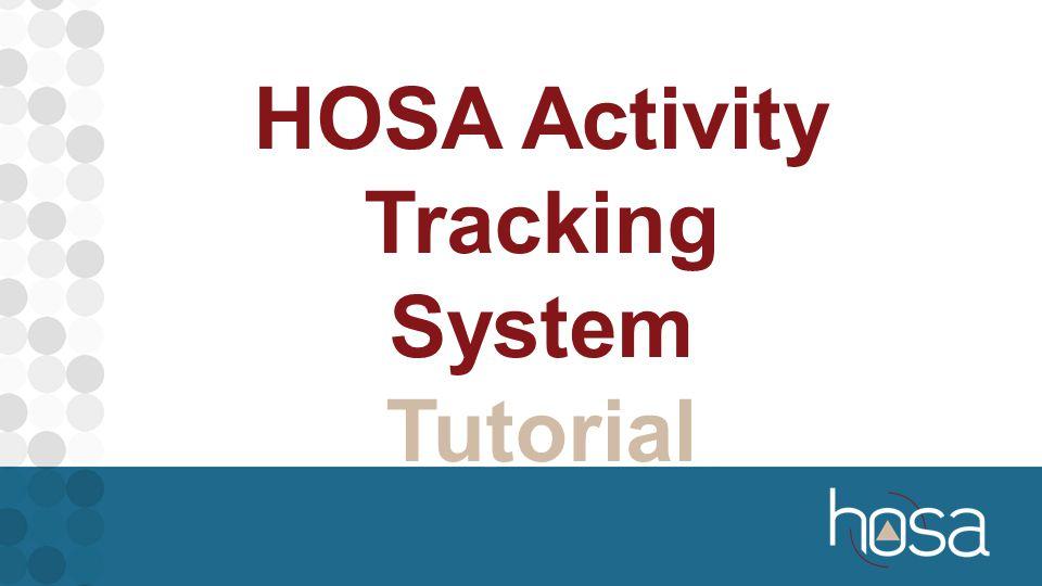 HOSA Activity Tracking System