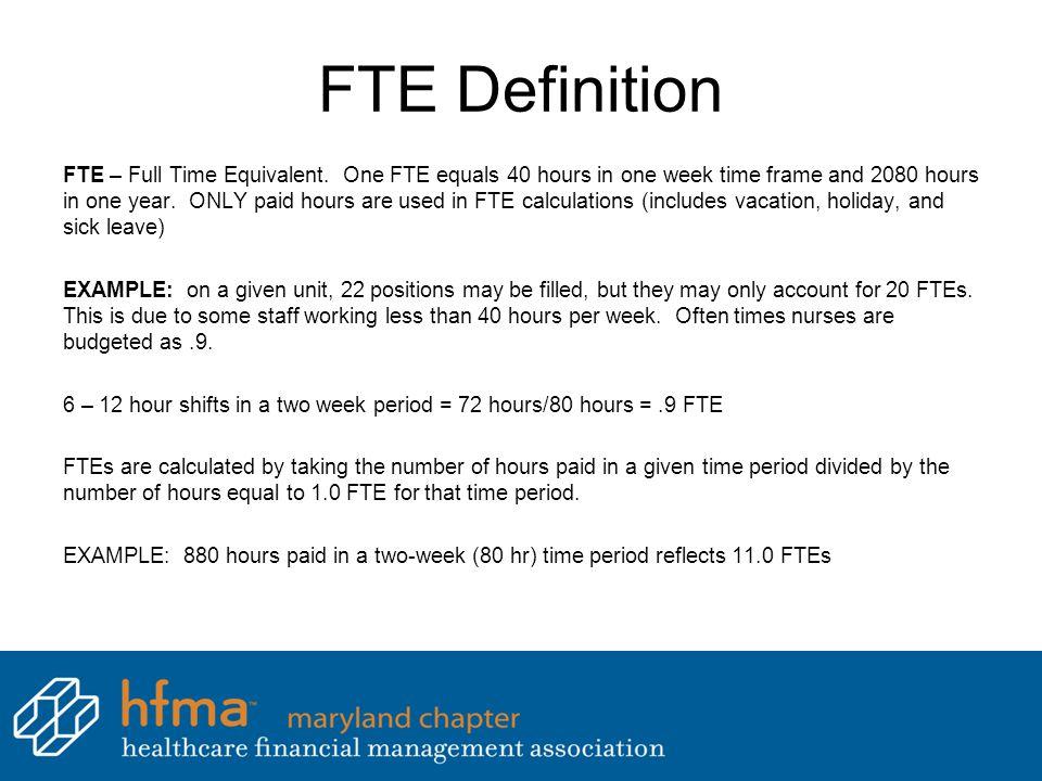FTE Definition