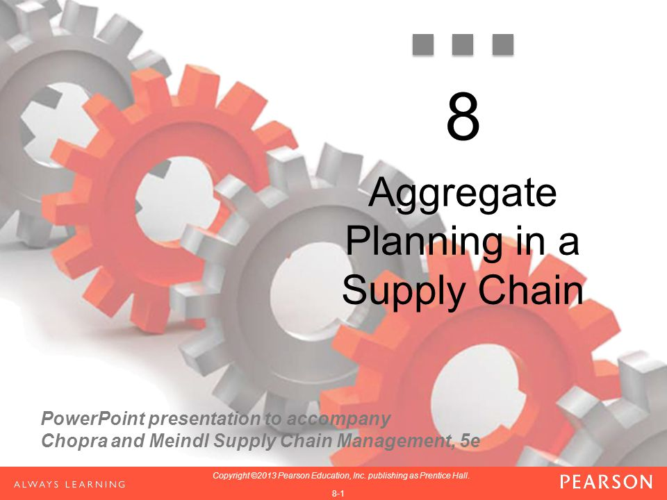Aggregate Planning in a Supply Chain