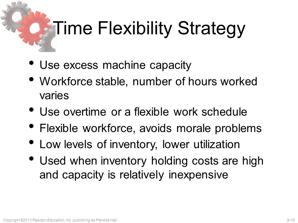 Time Flexibility Strategy