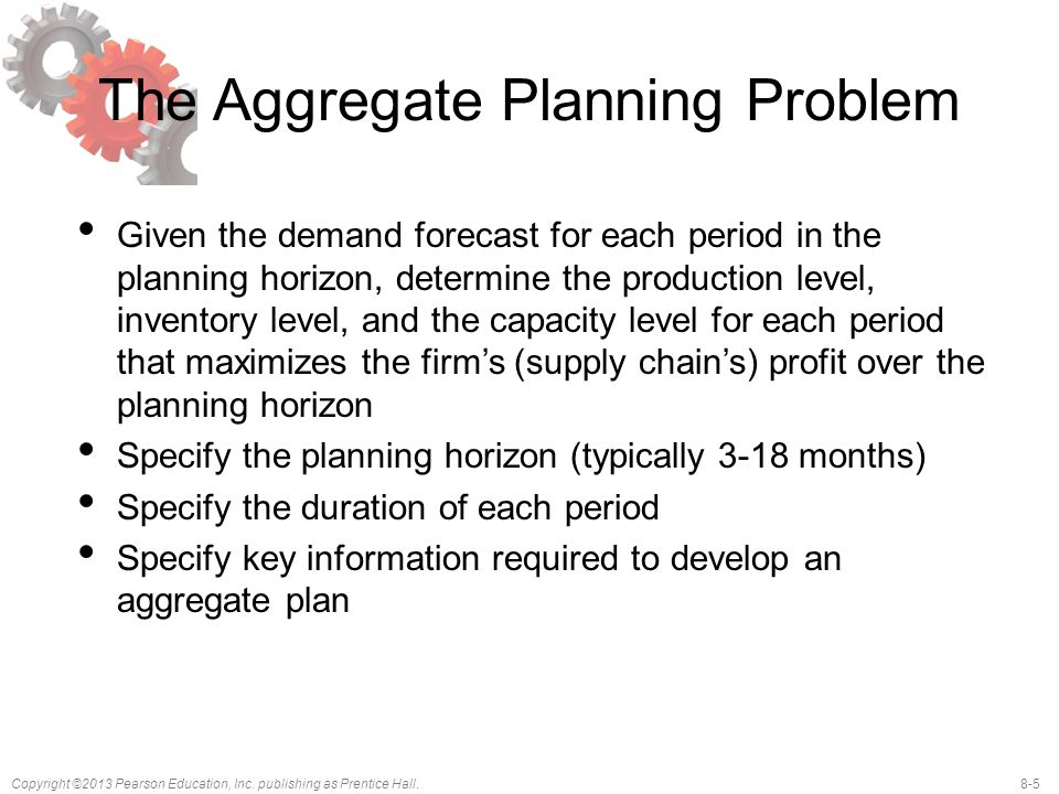 The Aggregate Planning Problem