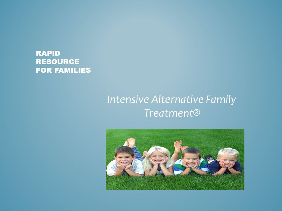 Rapid resource for families