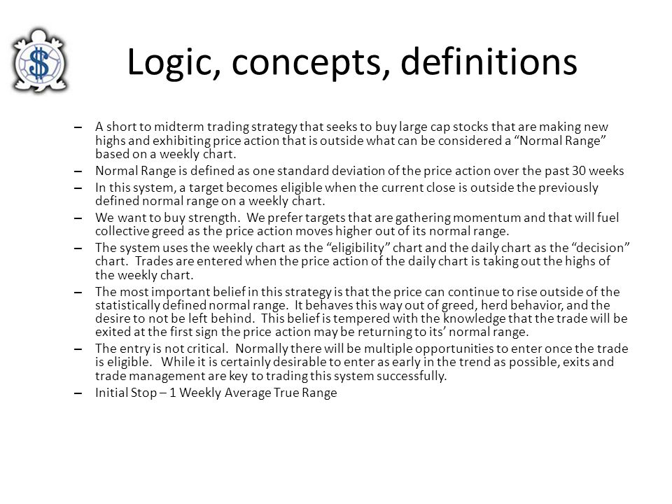 Logic, concepts, definitions