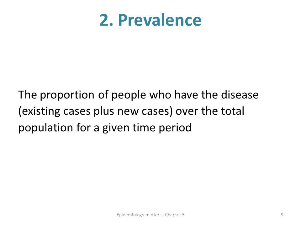 Epidemiology matters - Chapter 5