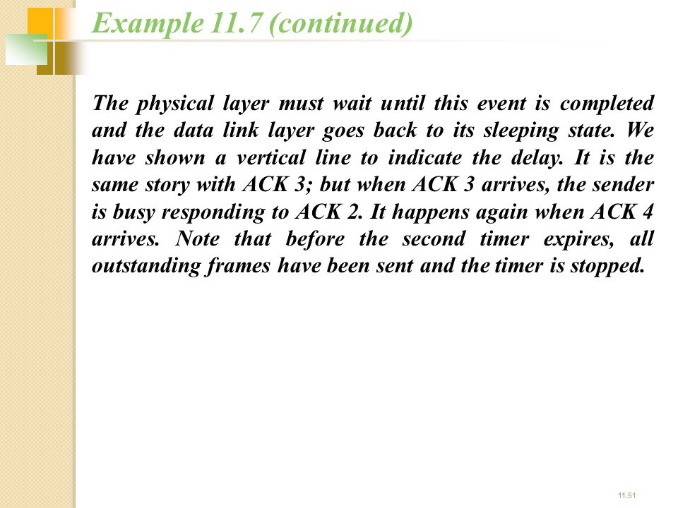 Example 11.7 (continued)