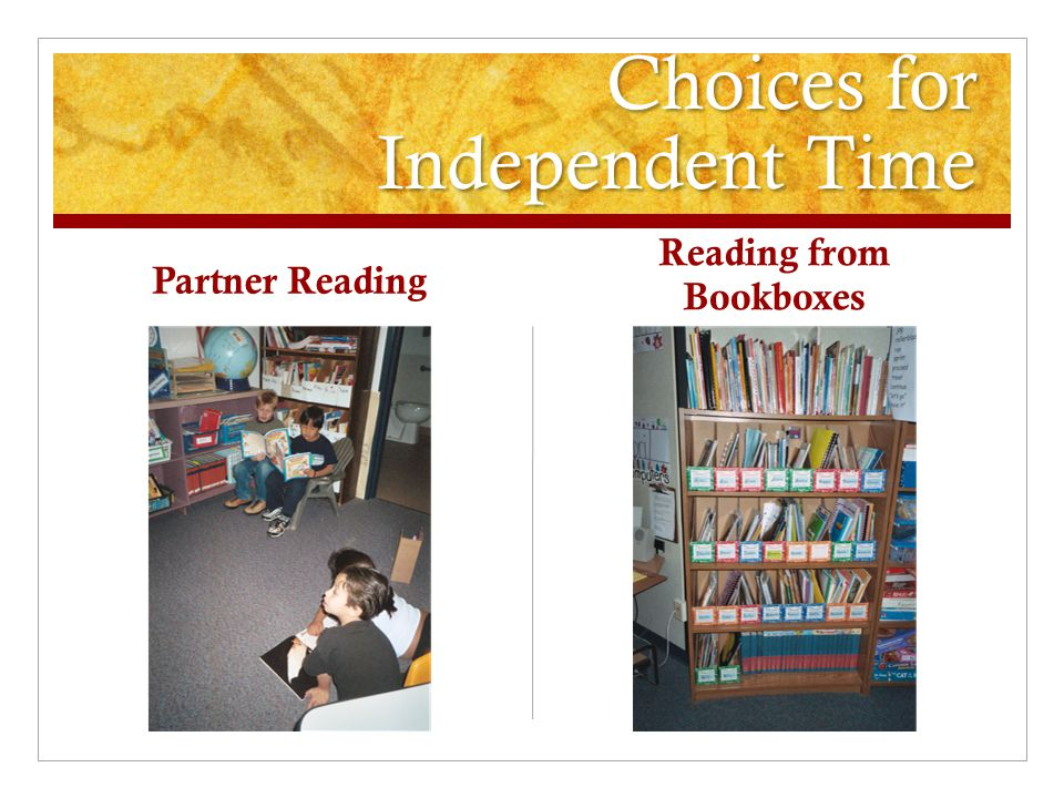Choices for Independent Time