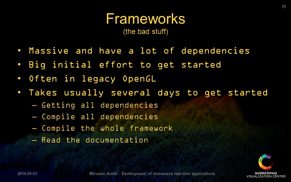 Frameworks (the bad stuff)