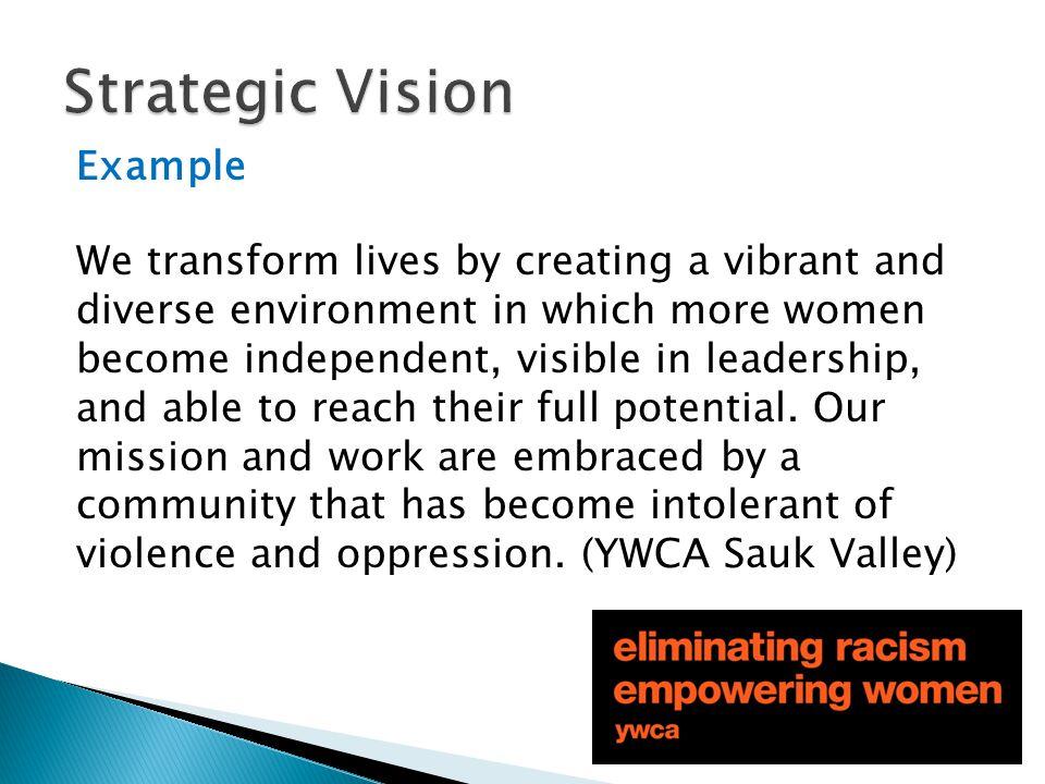 Strategic Vision Example