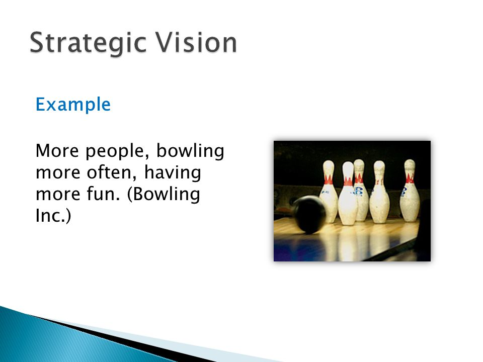 Strategic Vision Example