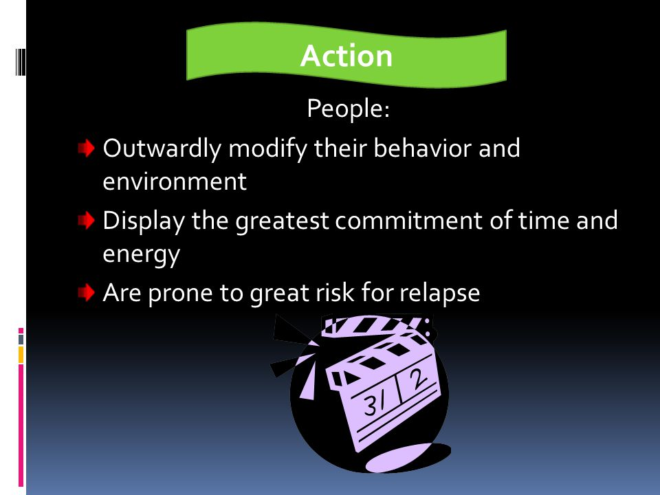Action People: Outwardly modify their behavior and environment