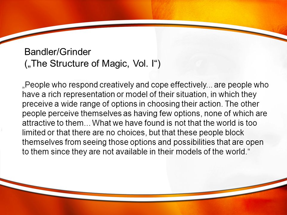 "(""The Structure of Magic, Vol. I )"