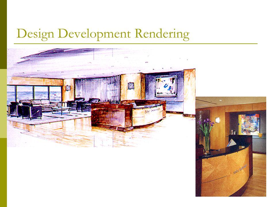 Design Development Rendering
