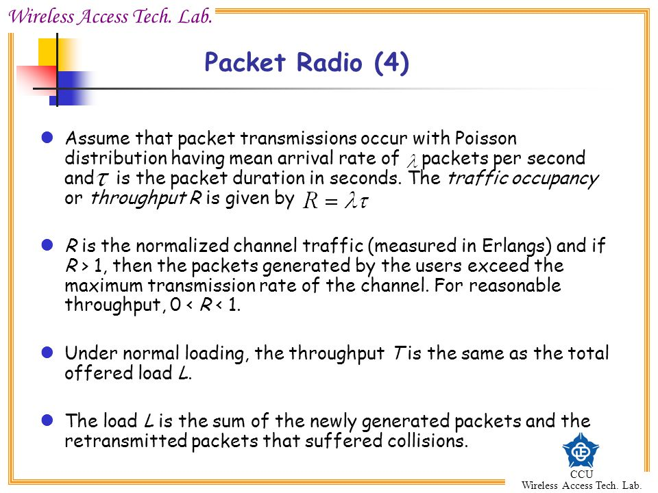 Packet Radio (4)