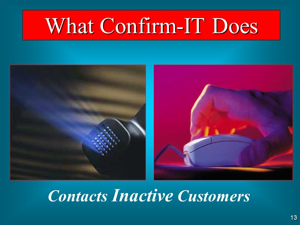 Contacts Inactive Customers