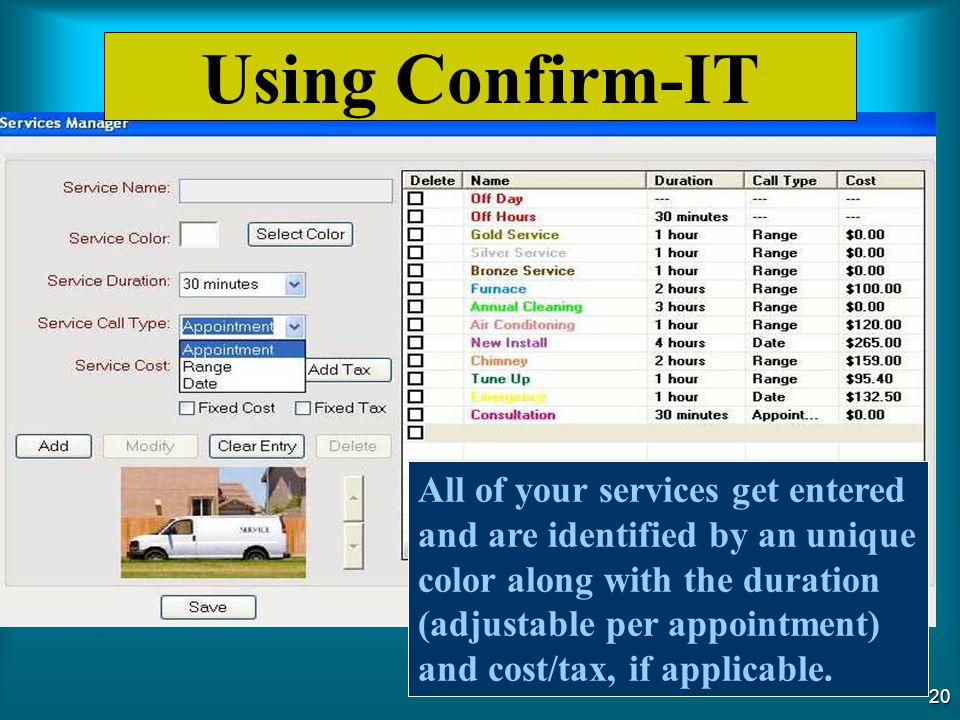 Using Confirm-IT