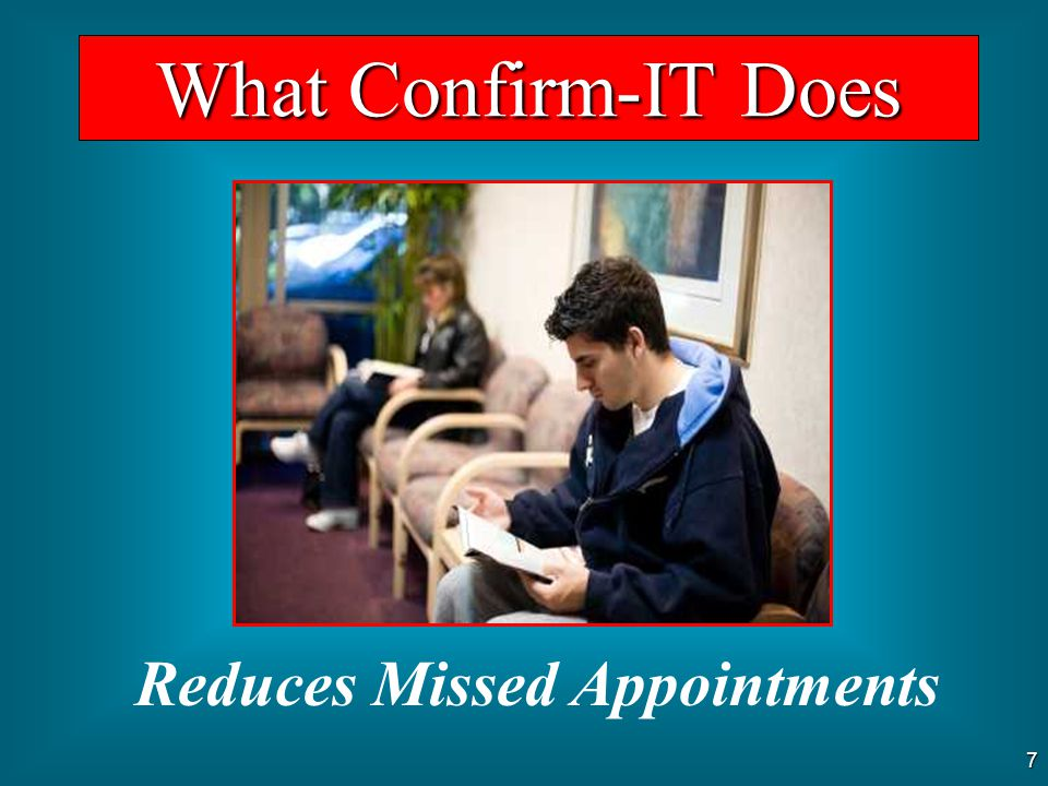 Reduces Missed Appointments