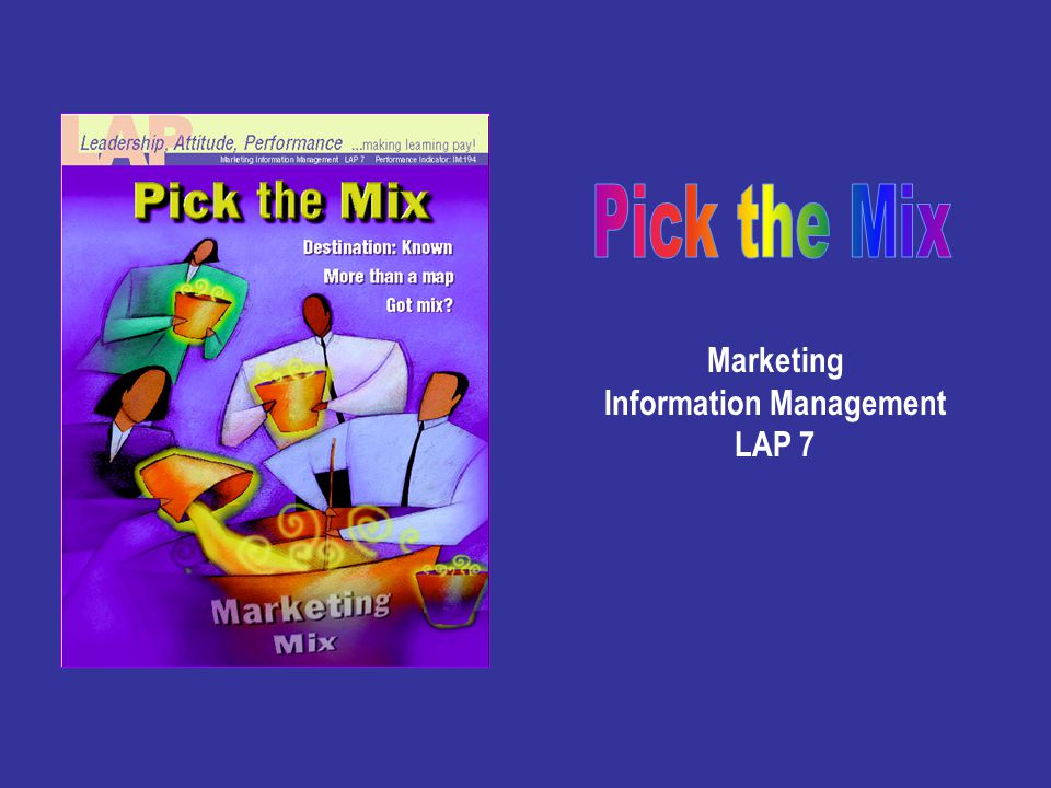 Marketing Information Management LAP 7