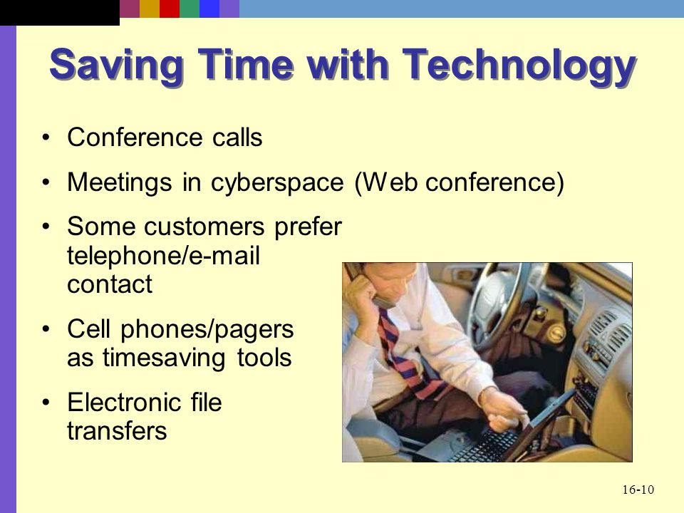 Saving Time with Technology