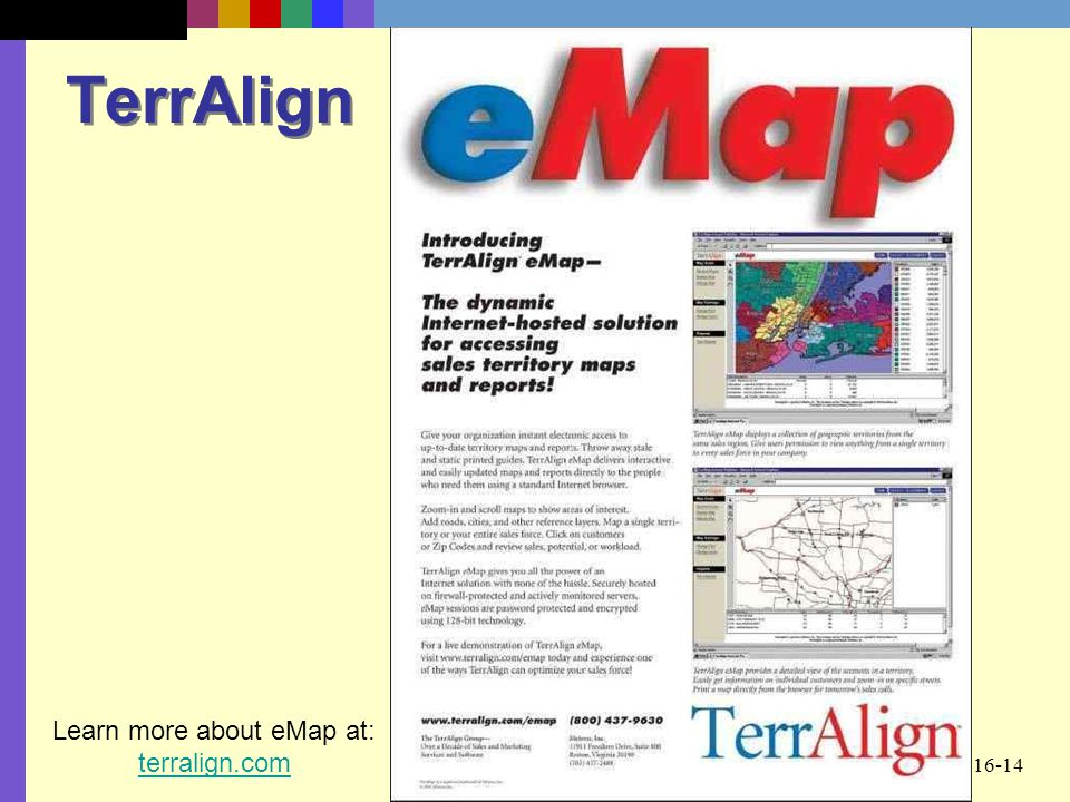 Learn more about eMap at: terralign.com