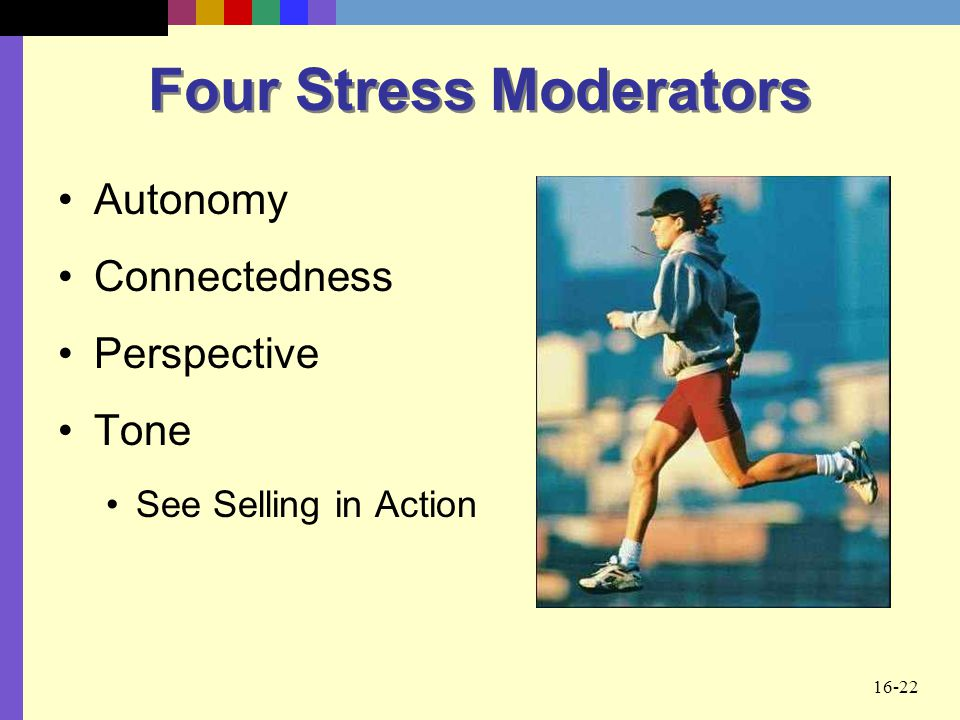 Four Stress Moderators