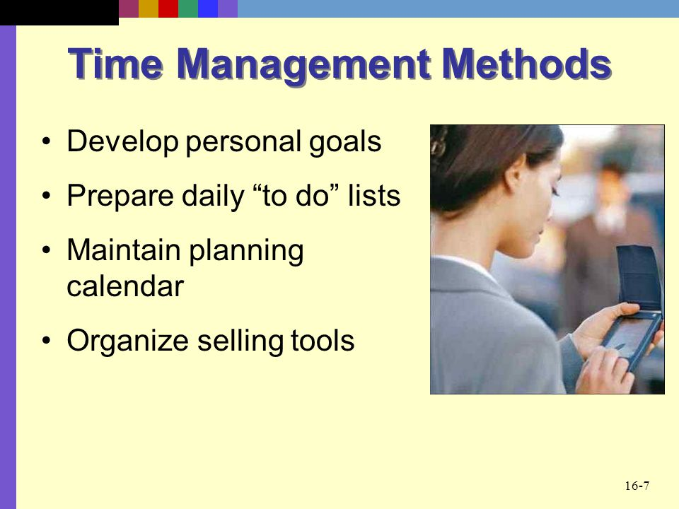 Time Management Methods