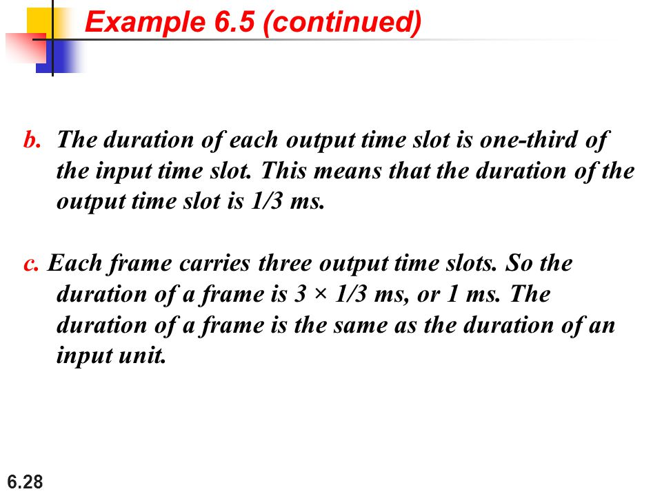 Example 6.5 (continued)
