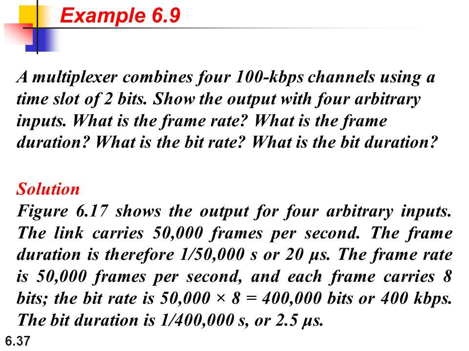 Example 6.9