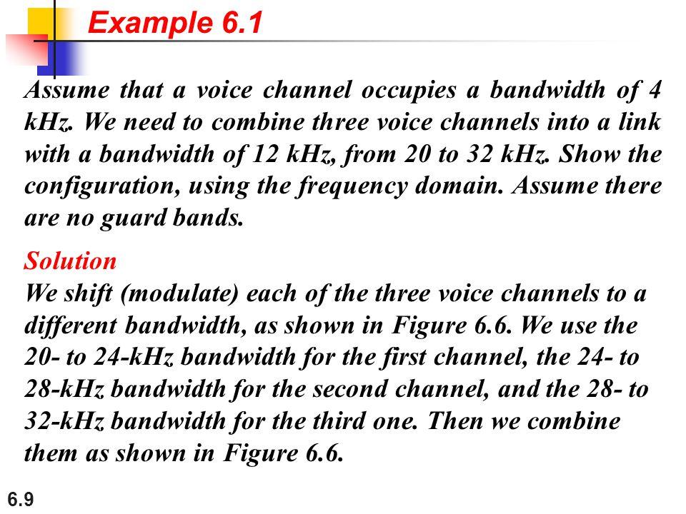 Example 6.1