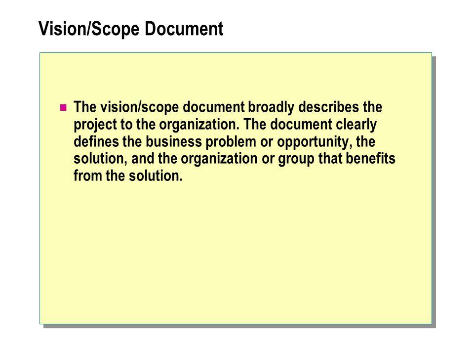 Vision/Scope Document