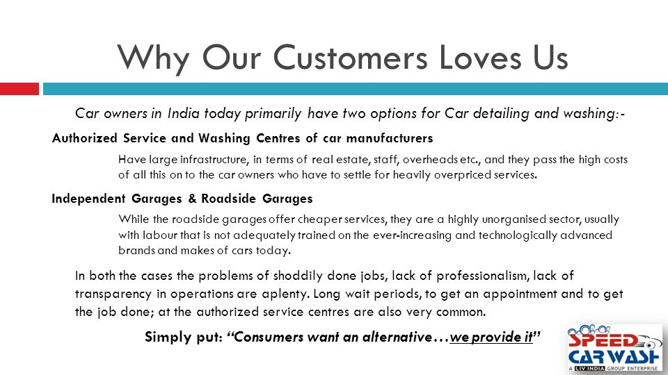 Why Our Customers Loves Us
