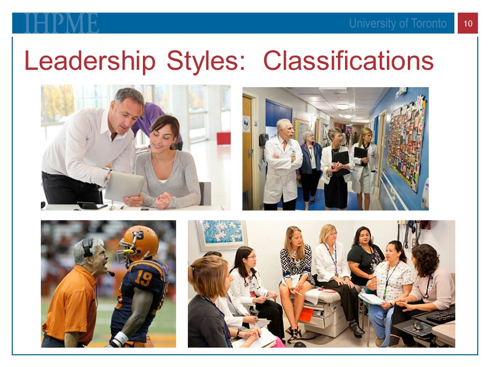Leadership Styles: Classifications