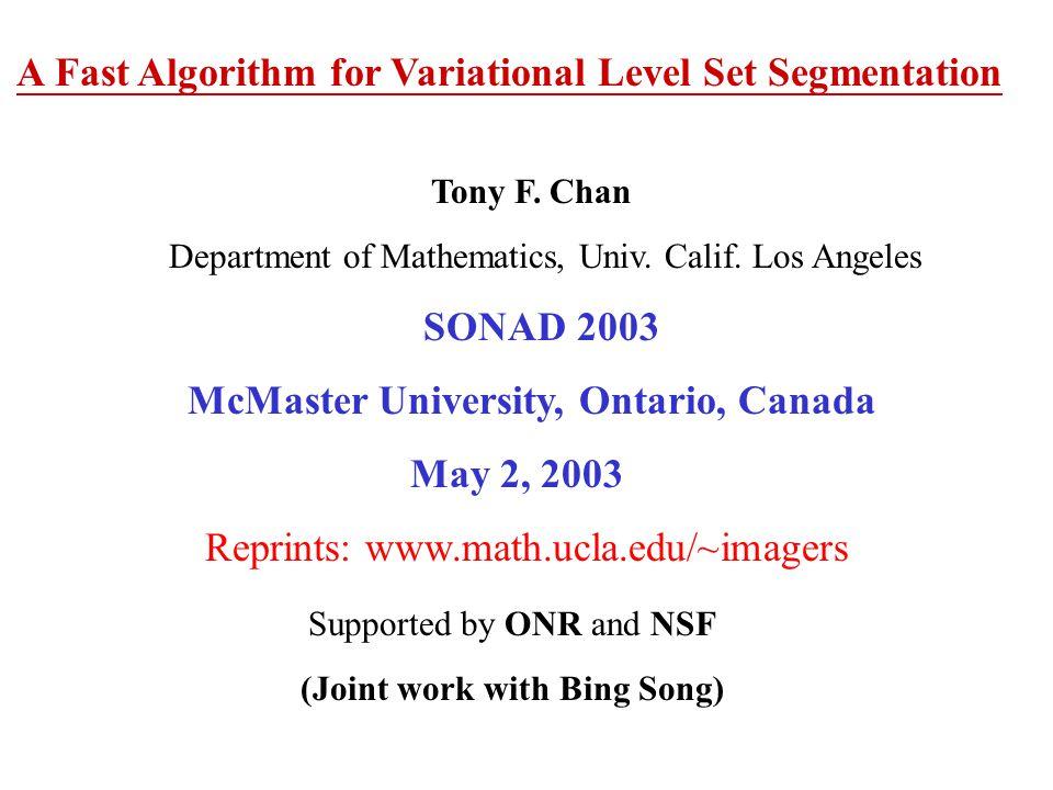 McMaster University, Ontario, Canada