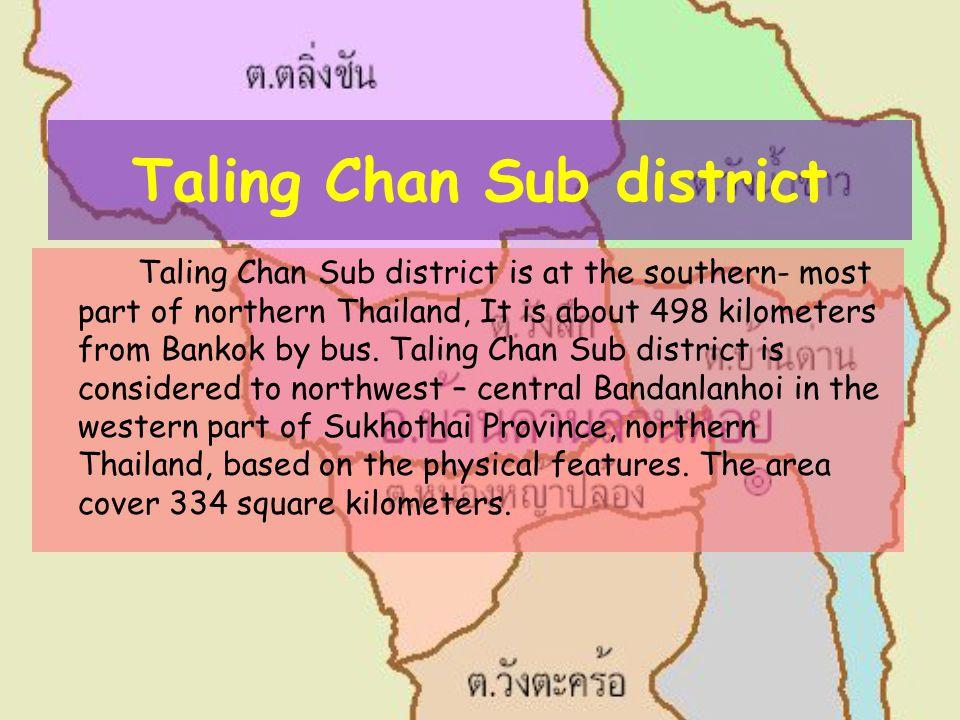 Taling Chan Sub district