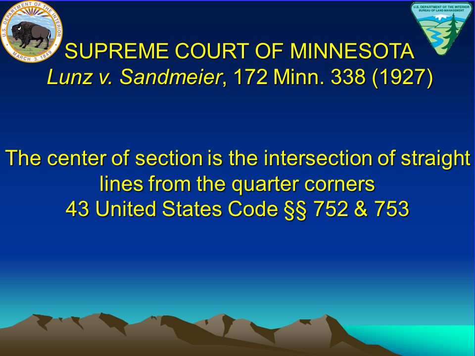 SUPREME COURT OF MINNESOTA Lunz v. Sandmeier, 172 Minn. 338 (1927)
