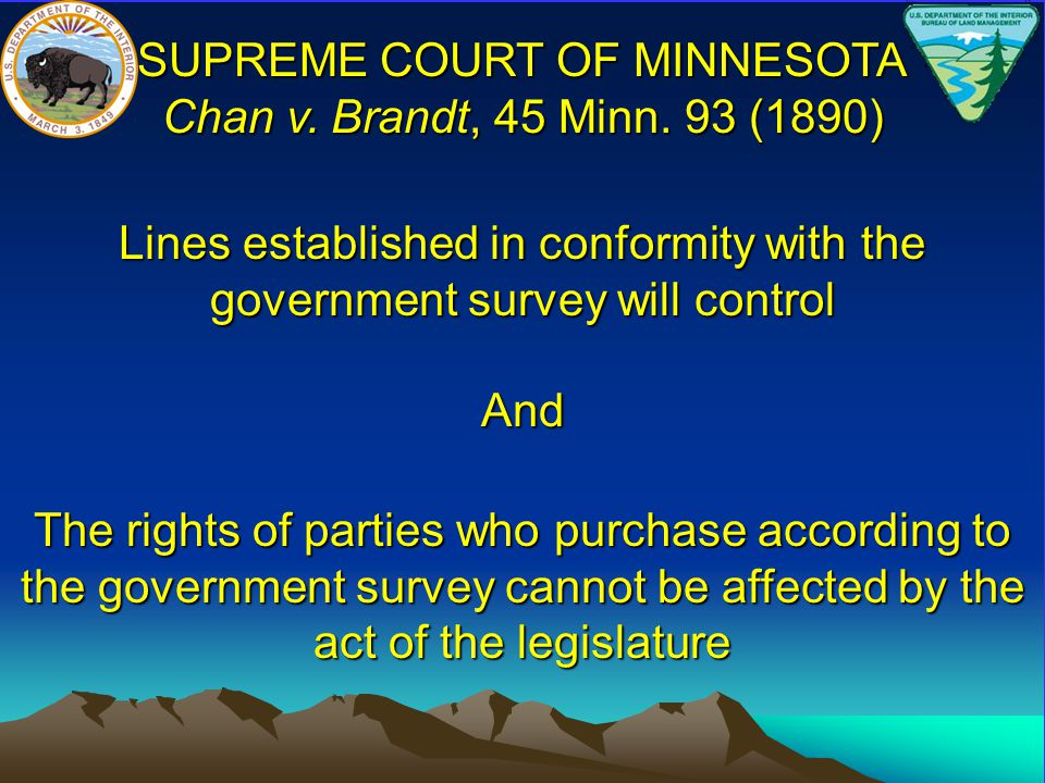 SUPREME COURT OF MINNESOTA