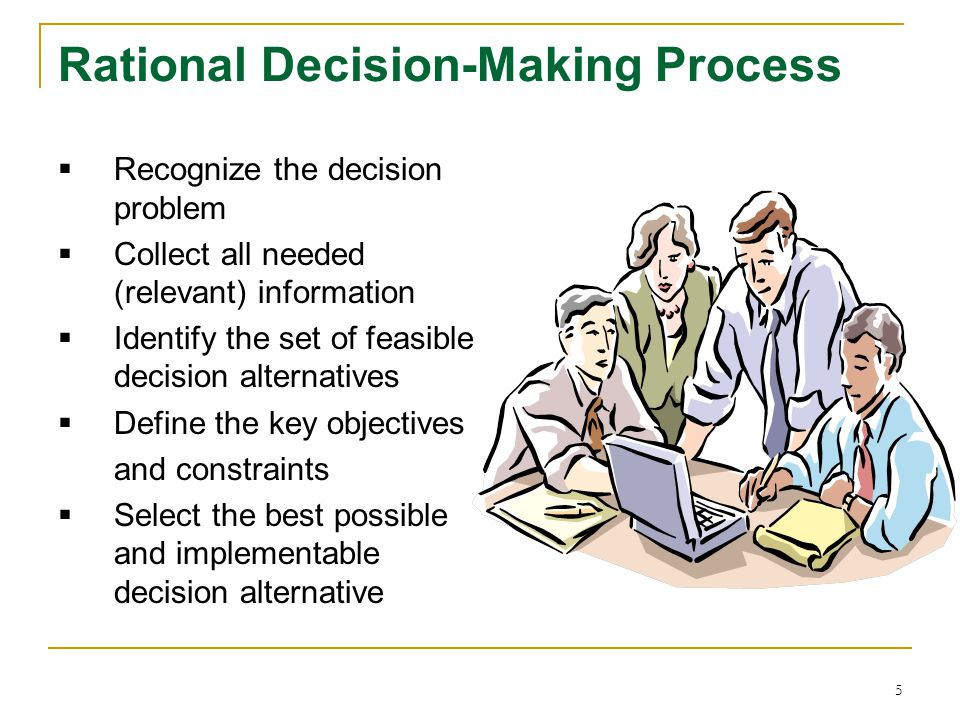 Rational Decision-Making Process