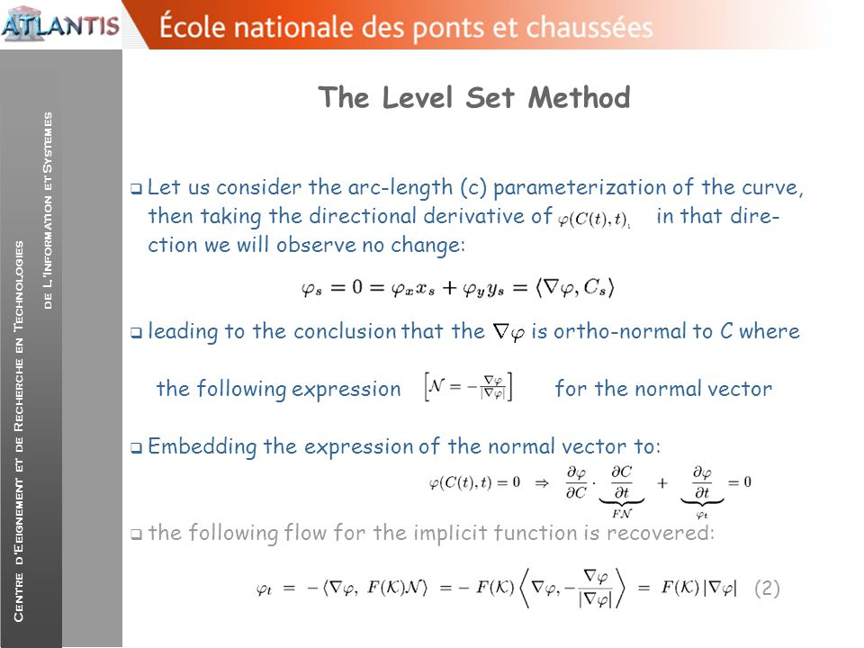 The Level Set Method