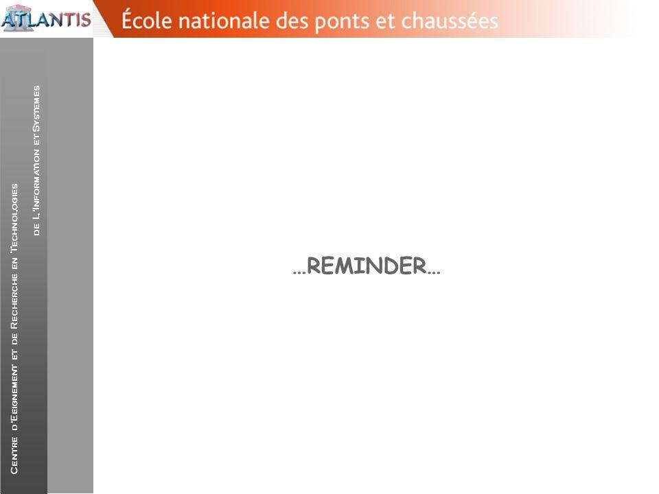 …REMINDER…