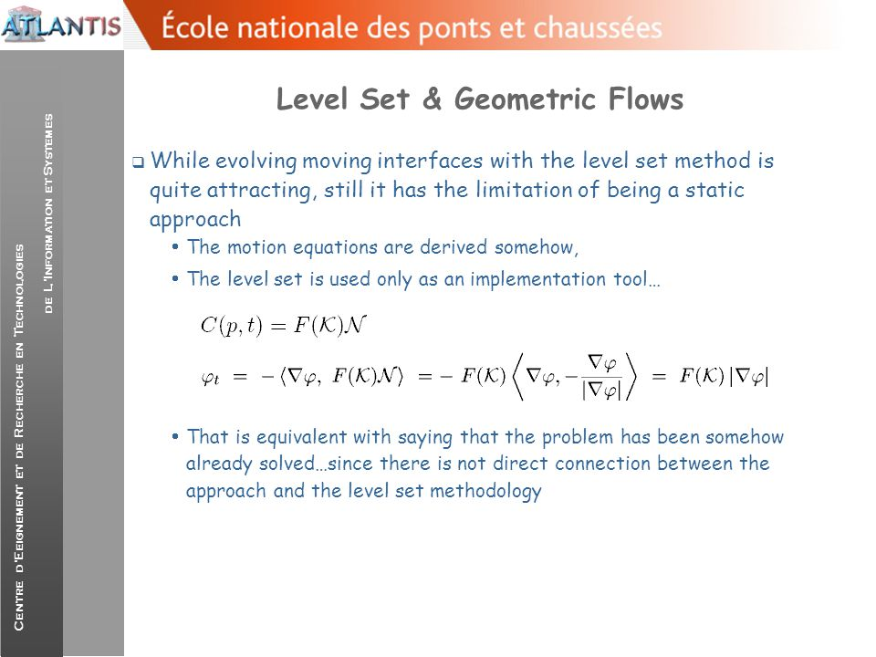 Level Set & Geometric Flows