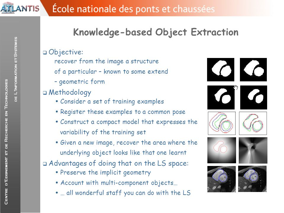 Knowledge-based Object Extraction