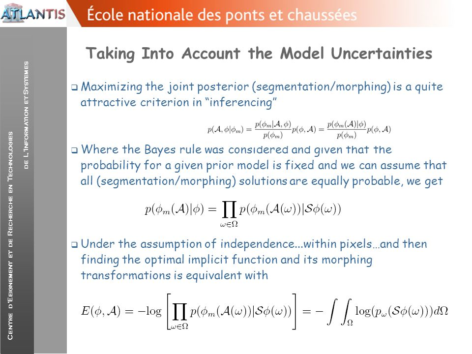 Taking Into Account the Model Uncertainties
