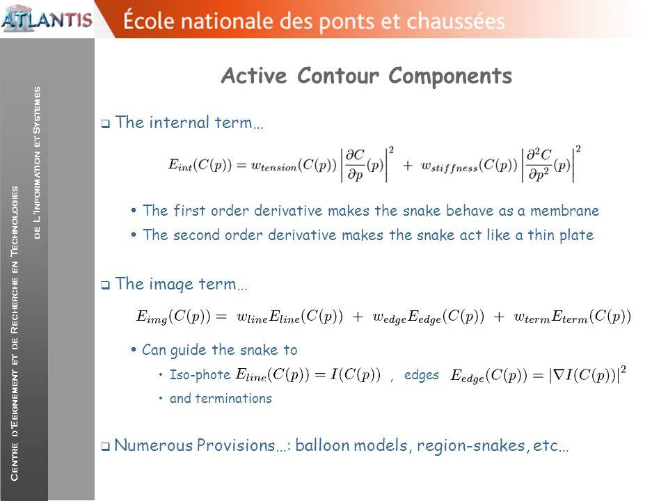 Active Contour Components