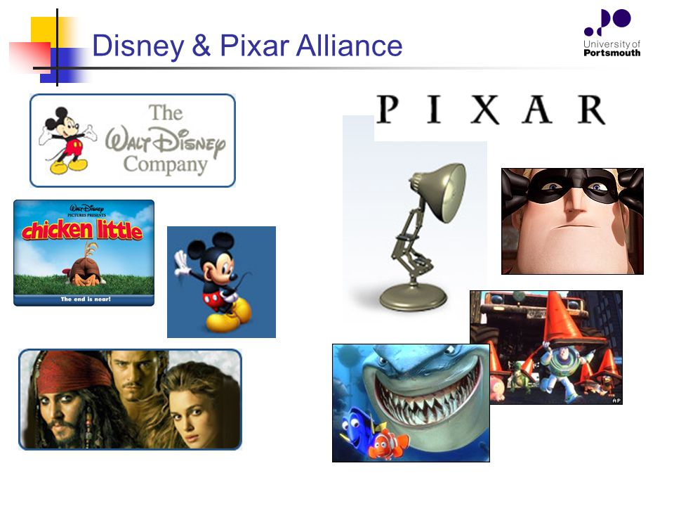 Disney & Pixar Alliance