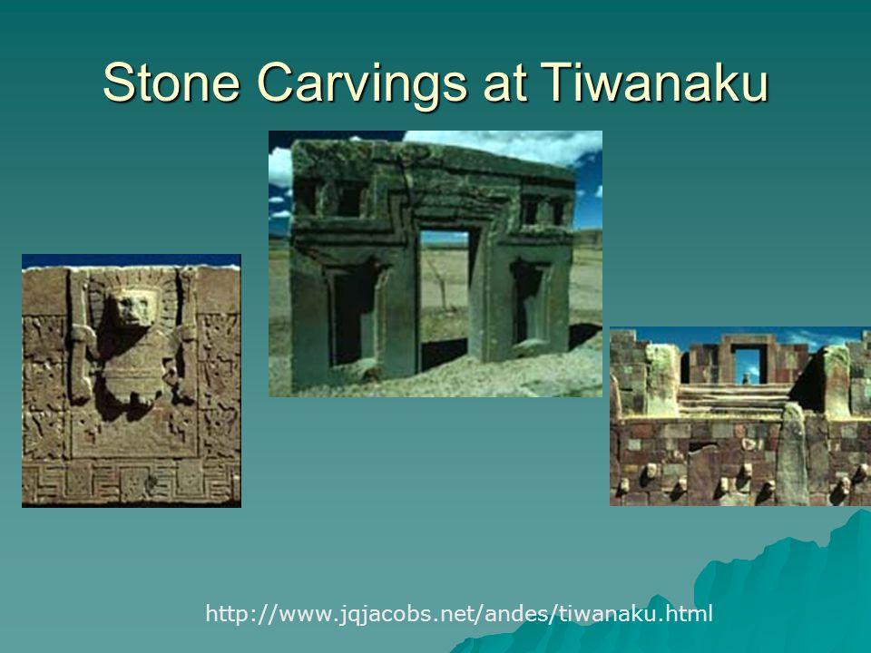Stone Carvings at Tiwanaku