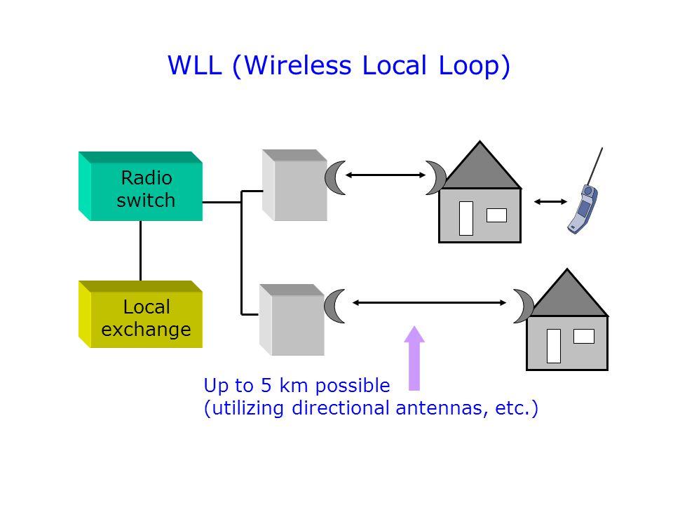 WLL (Wireless Local Loop)