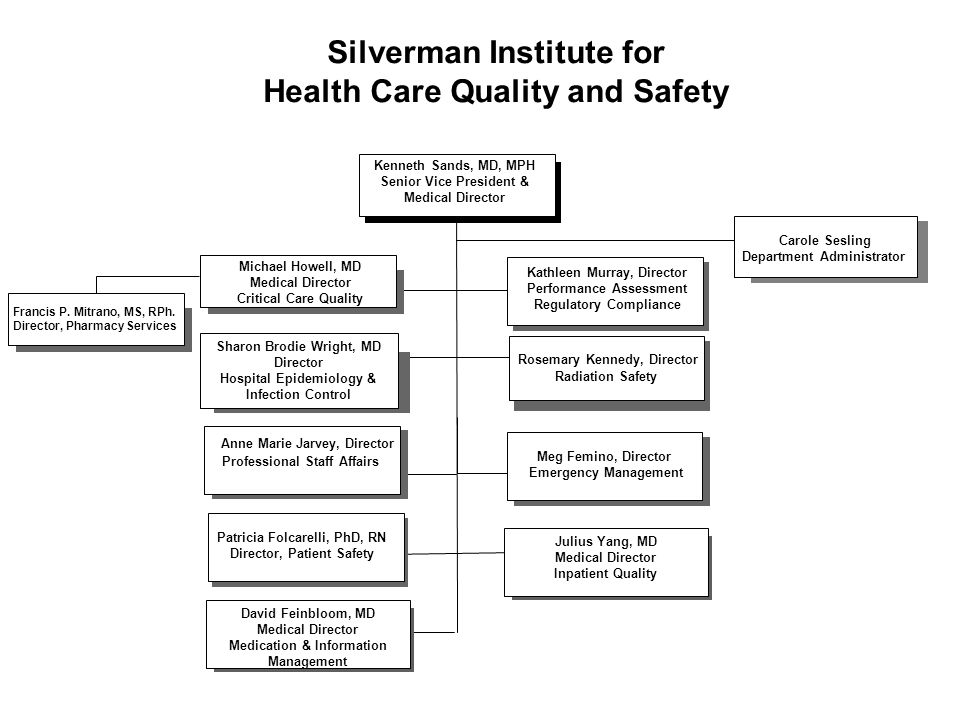 Silverman Institute for Health Care Quality and Safety