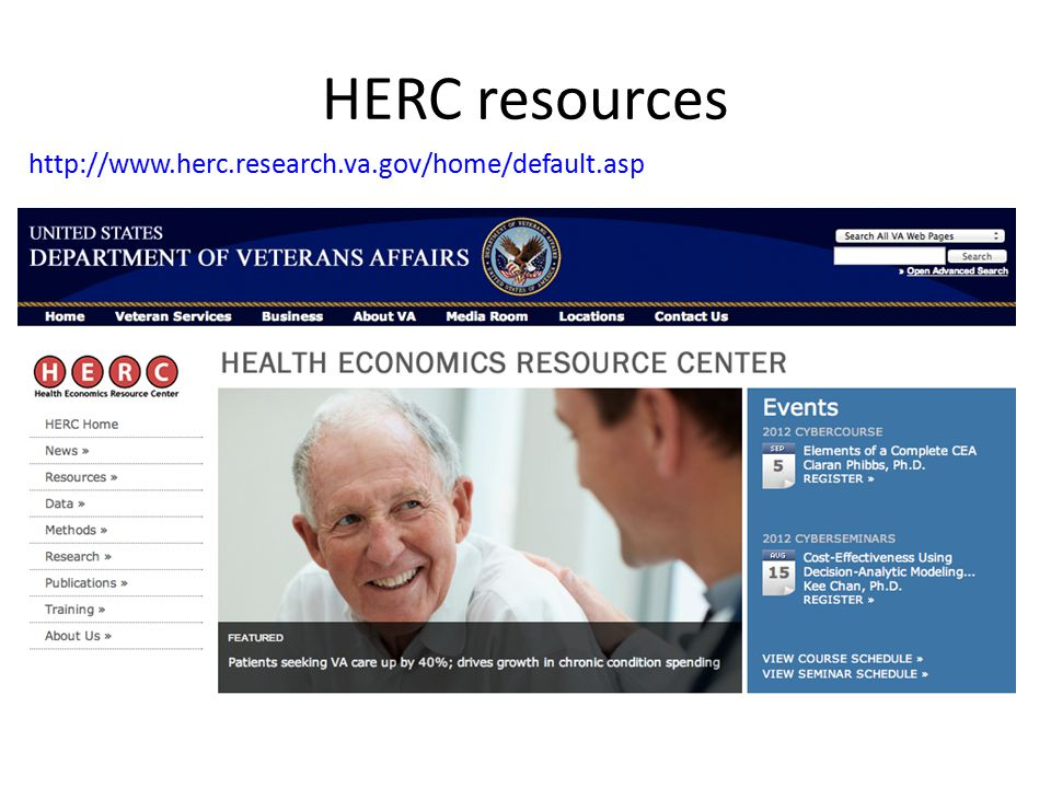 HERC resources http://www.herc.research.va.gov/home/default.asp
